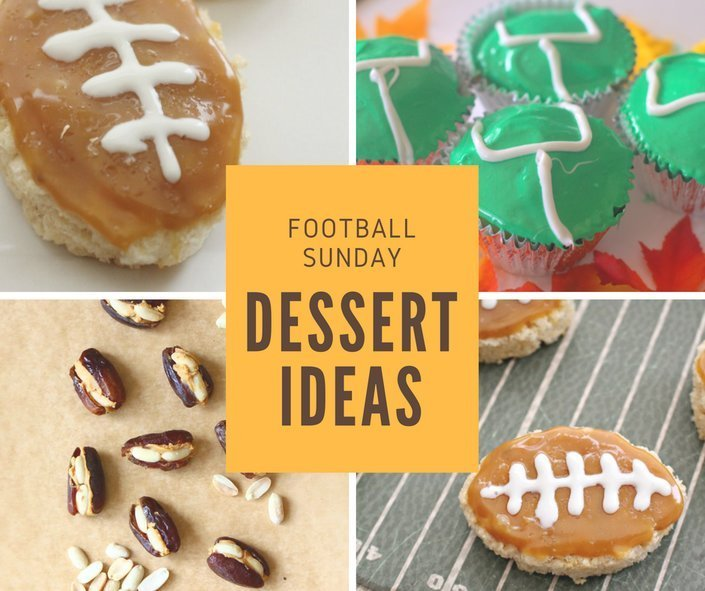 football Sunday 100 plus recipe ideas dessert ideas