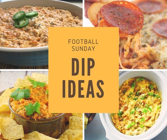 football Sunday 100 plus recipe ideas dip ideas