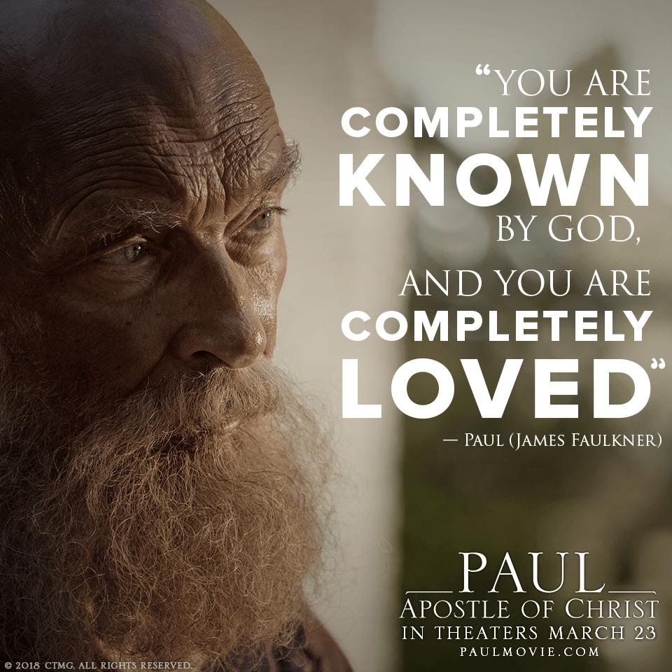 Paul, Apostle of Christ Movie #PaulMovie