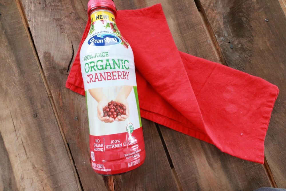 Oceanspray Organic 100% Juice Cranberry
