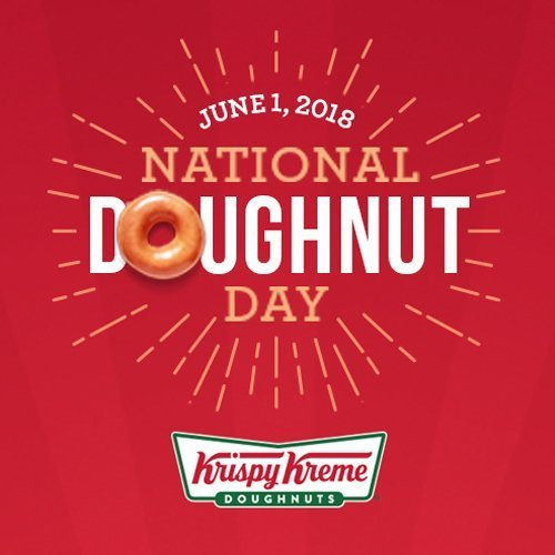 Celebrate #NationalDonutDay With a FREE Donut from Krispy Kreme