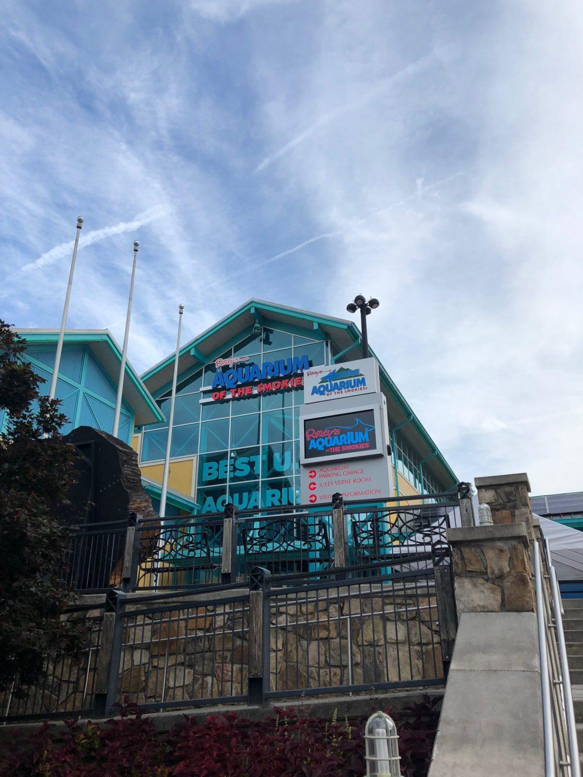 Ripley's Aquarium of the Smokies ad