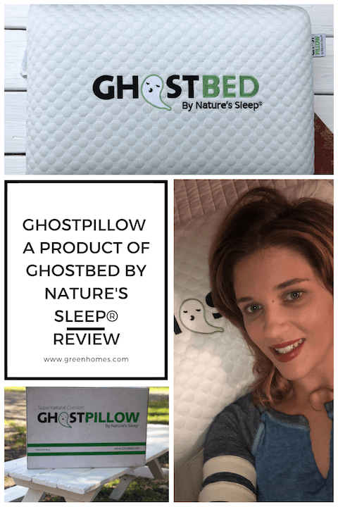 GhostPillow by GhostBed and Nature's Sleep review ad