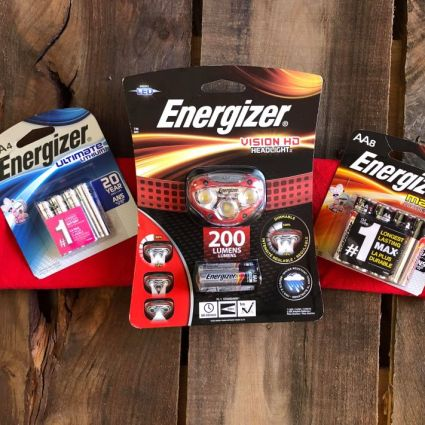Energizer® batteries are the number one longest lasting batteries