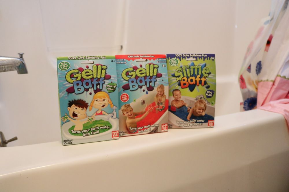 Gelli Baff & Slime Baff from Zimpli Kids Make Bath Time Fun Again 75