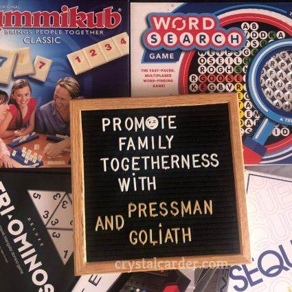 promote family togetherness with Goliath games