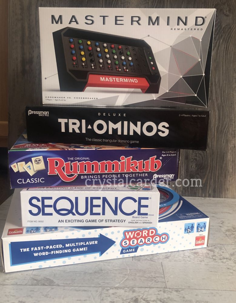 Games from Goliath and Pressman Toy