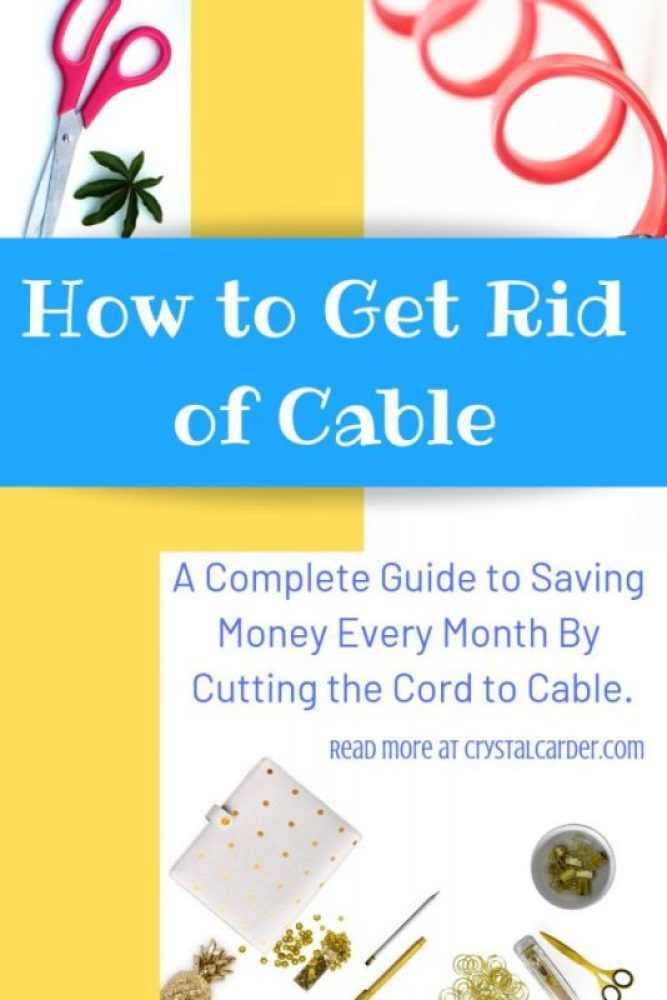 how to get rid of cable