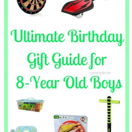 Ultimate Birthday gift guide boys 8