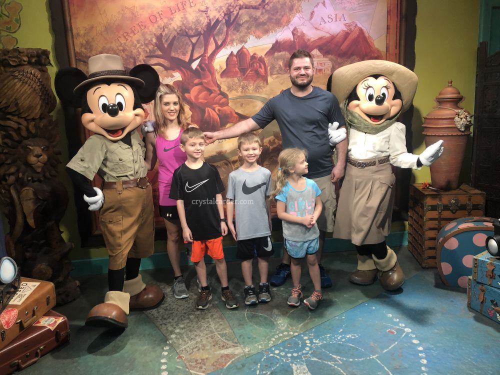 Disney World Dream Meet and Greets with Mickey and Minnie Mouse