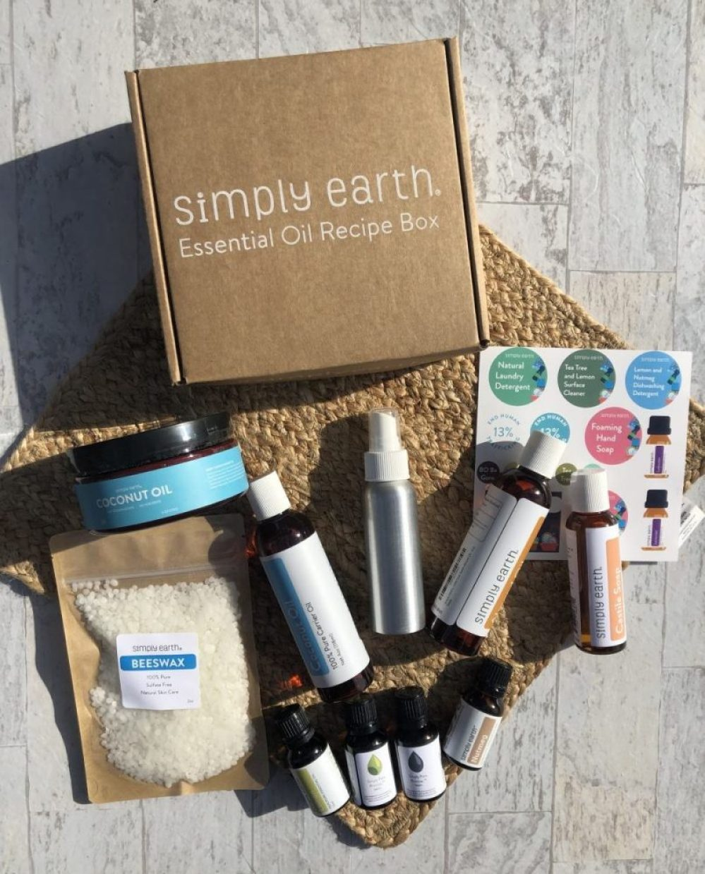 Simply Earth Essential Oils Monthly Subscribe Box - Honest Review 73