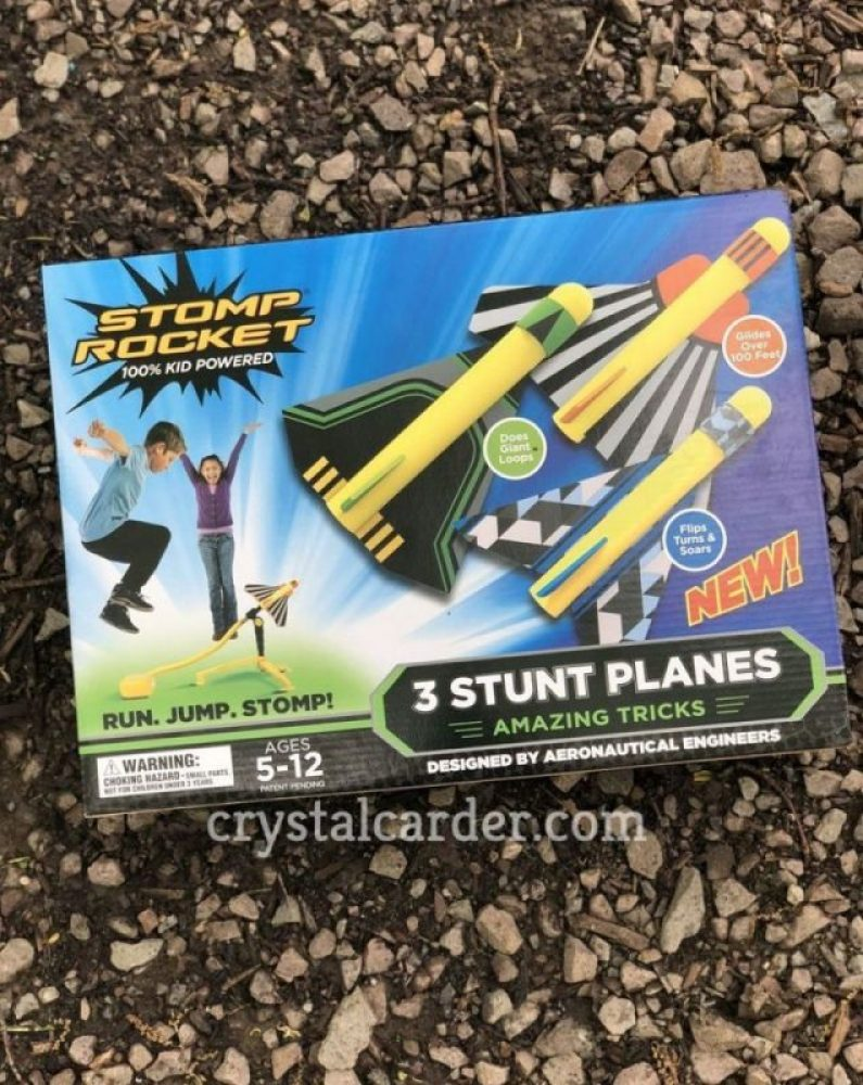 Stomp Rocket® Stunt Planes - Three Pack Review 76