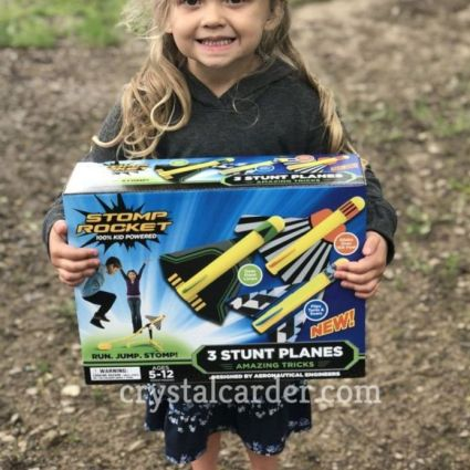 Stomp Rocket® Stunt Planes - Three Pack Review