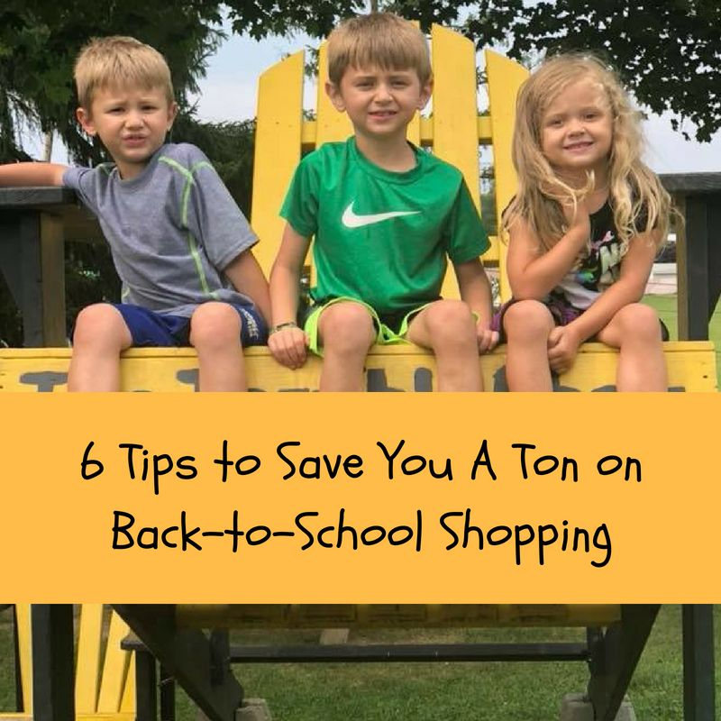 save a ton back to school shopping
