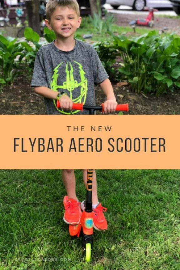 The First Scooter from Flybar, the Aero 2-Wheel Kick Scooter Review 87