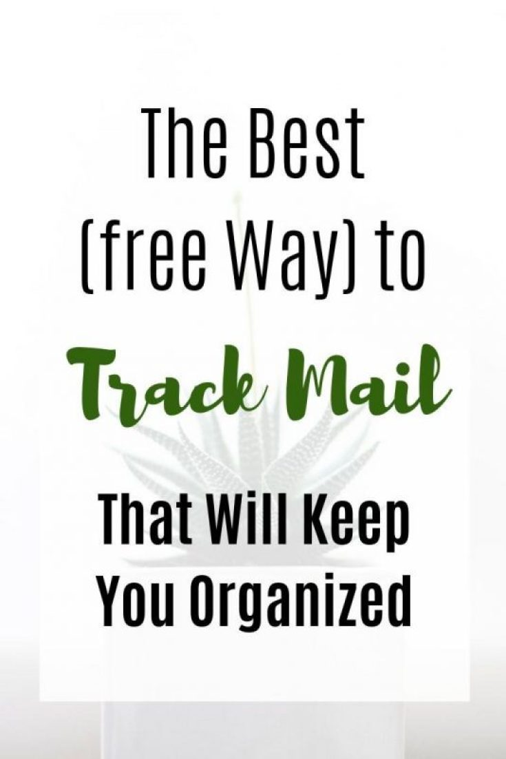 Best Way to track mail for free