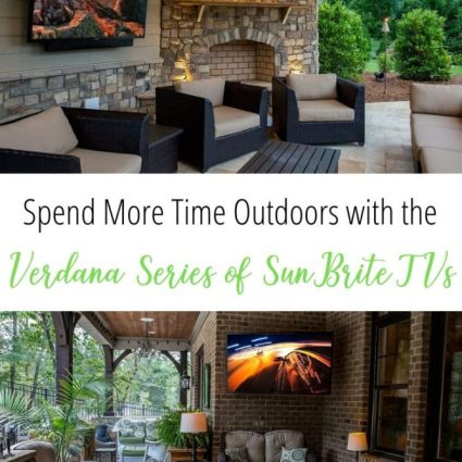 ad Enjoy Being Outdoors with the Veranda Series of SunBrite Outdoor TVs