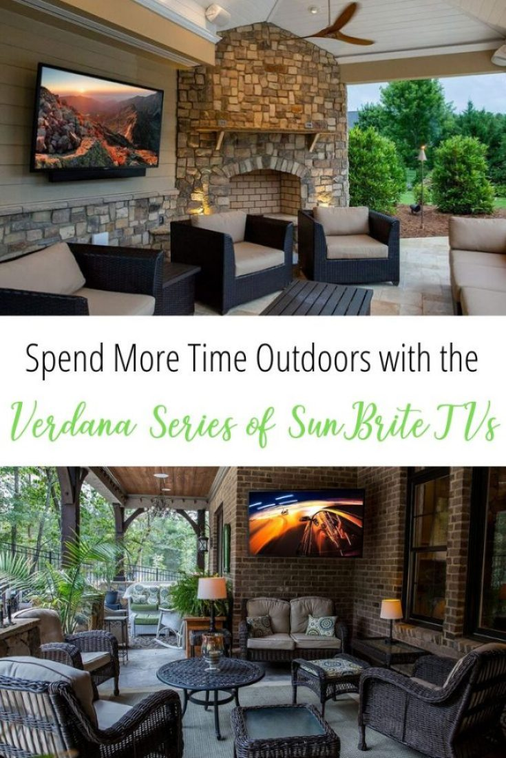 Enjoy Being Outdoors with the Veranda Series of SunBrite Outdoor TVs 83