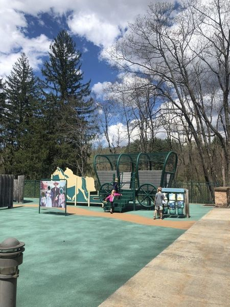 Fort Necessity Playground area