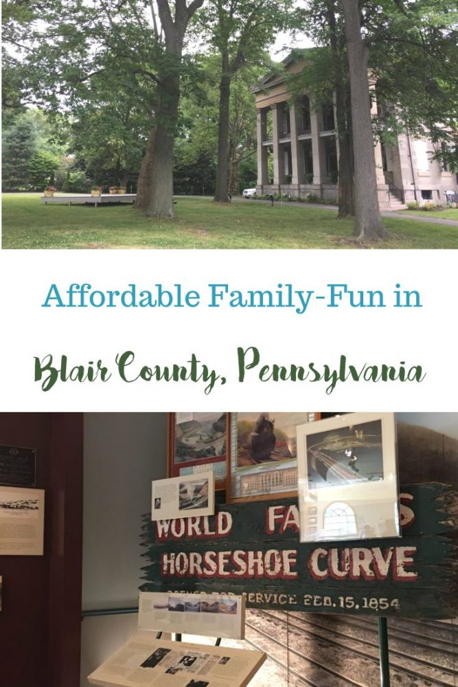 Affordable Family-Fun in Blair County, PA