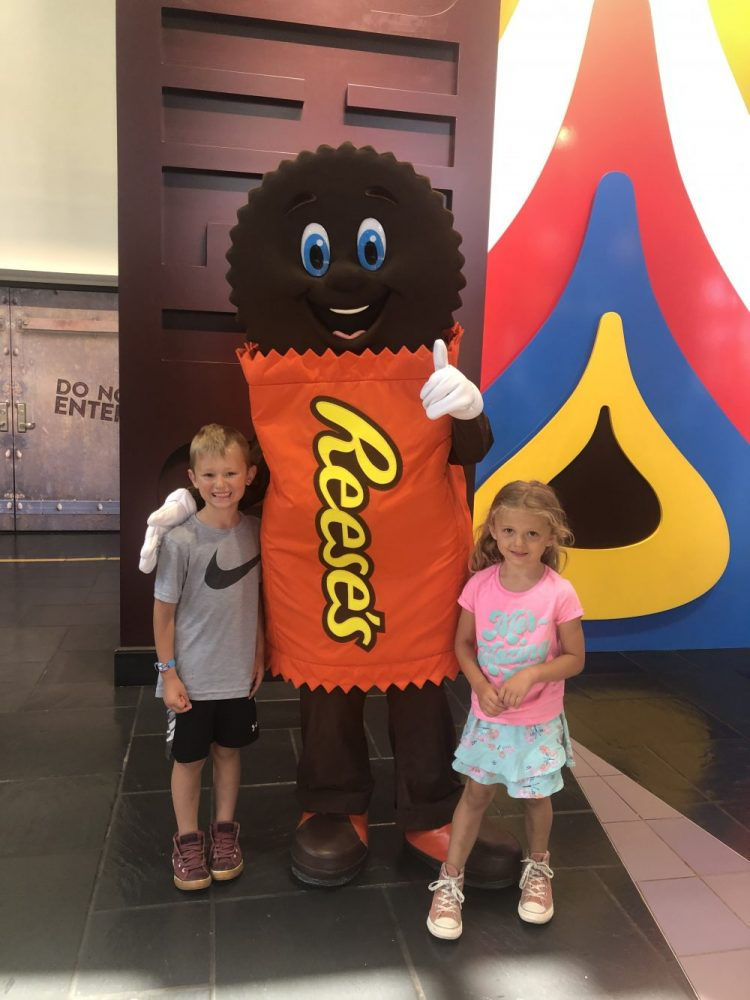 Meet and Greet Hershey's Chocolate World