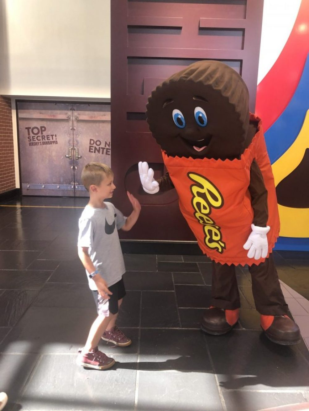 Reeses Meet and Greet at Hershey Park
