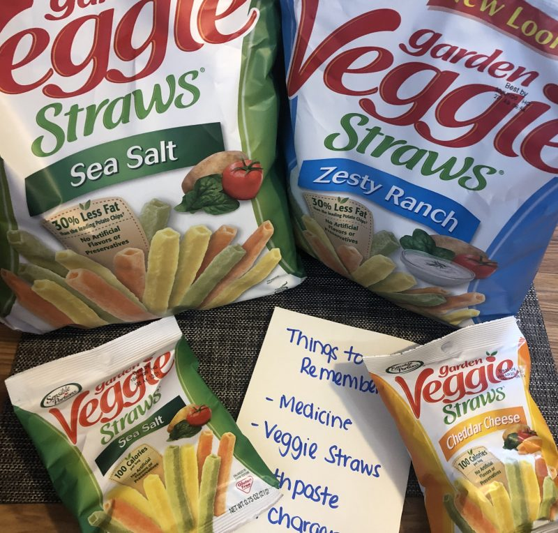 Tackling family travel with Veggie Straws