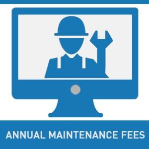 annual maintenance fee