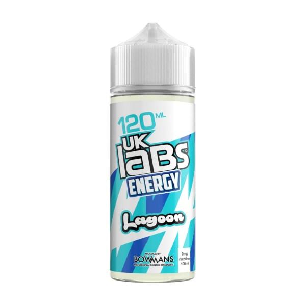 UK Labs, e-liquid, bottle, blue-lagoon