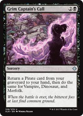 Grim Captain's Call