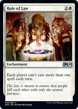 Rule of Law - Foil