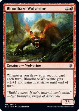 Bloodhaze Wolverine