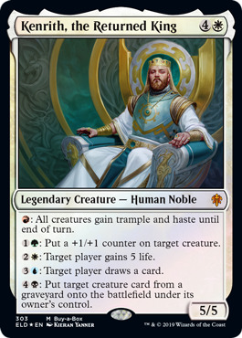Kenrith, the Returned King - Collector Pack Exclusive