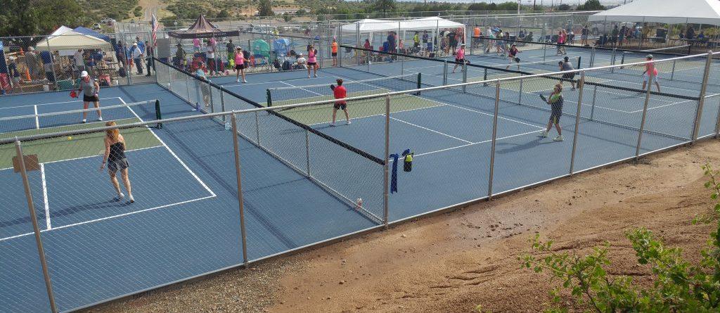 New Pickleball Court Open In Prescott