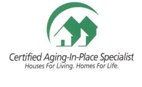 Crystal Creek Homes are Proud Certified Aging in Place Specialists