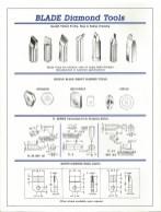 Crystal Cut Tool, INC. Blade Diamond Tool