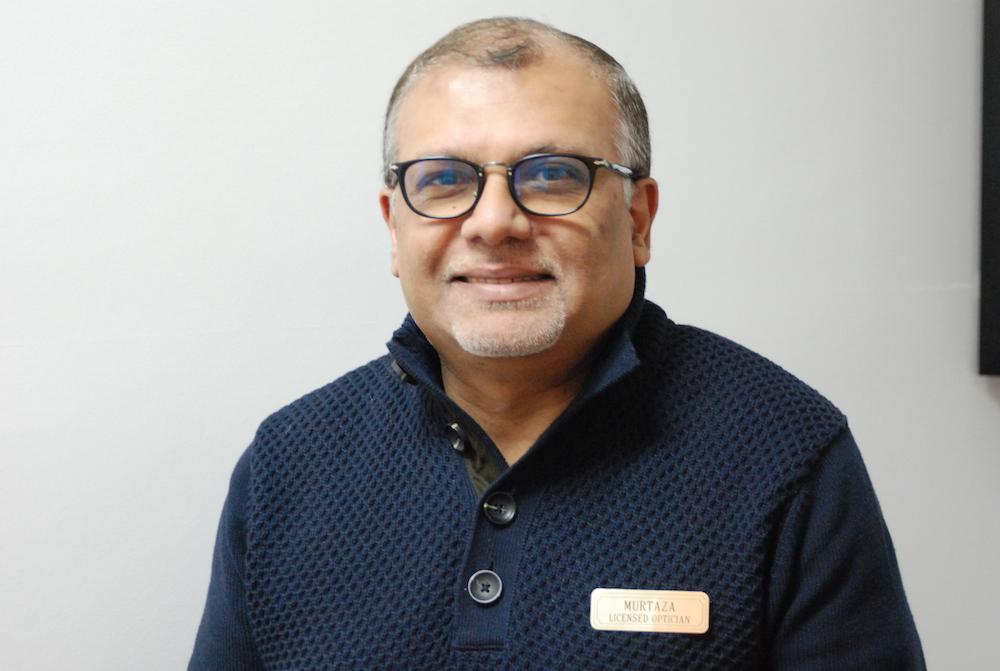 Murtaza Janmohamed Owner Licensed Optician Richmond Hill