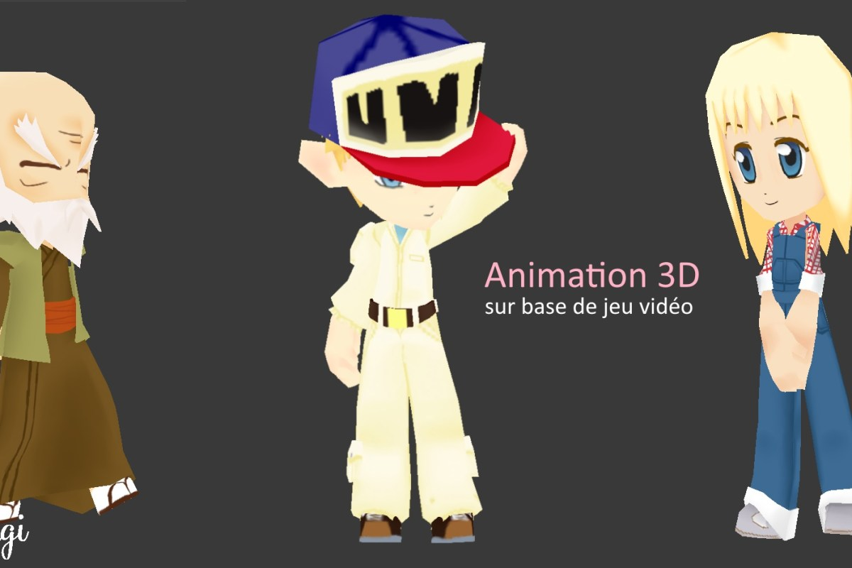 Animation 3D - Harvest Moon