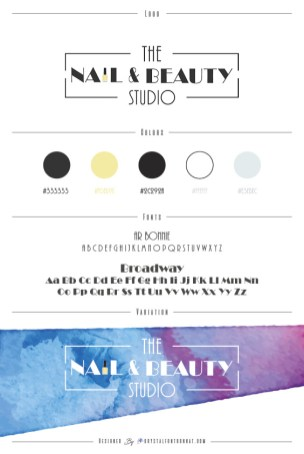 The Nail & Beauty Studio Graphic Chart
