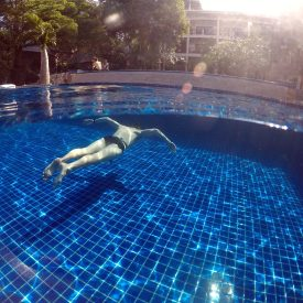 Freediving without fins