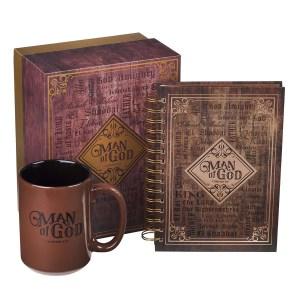Man Of God (Mug & Journal Gift Set)