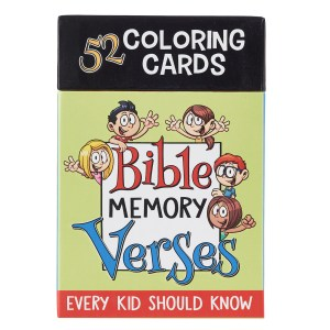 Bible Memory Verses (Colouring Boxed Cards)