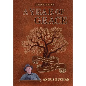 A Year of Grace Large Print (Hardcover)