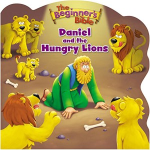 The Beginner's Bible Daniel And The Hungry Lions (Board Book)