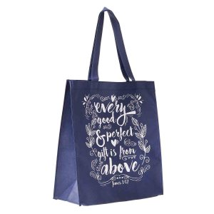 Every Good & Perfect Gift Is From Above (Non-Woven Polypropylene Tote Bag)