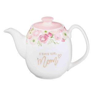 I Love You Mom (Ceramic Tea Pot)