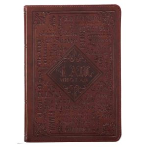 The Names Of God (LuxLeather Journal)