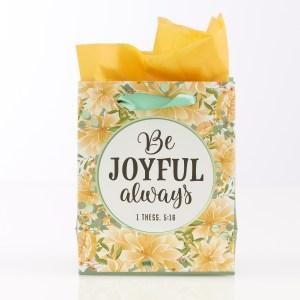 Be Joyful Always (Extra Small Gift Bag)