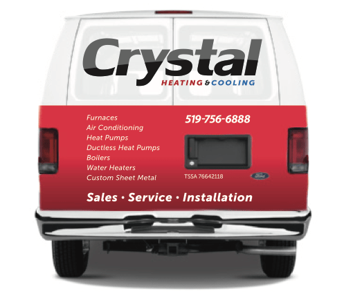 Crystal Heating and Cooling