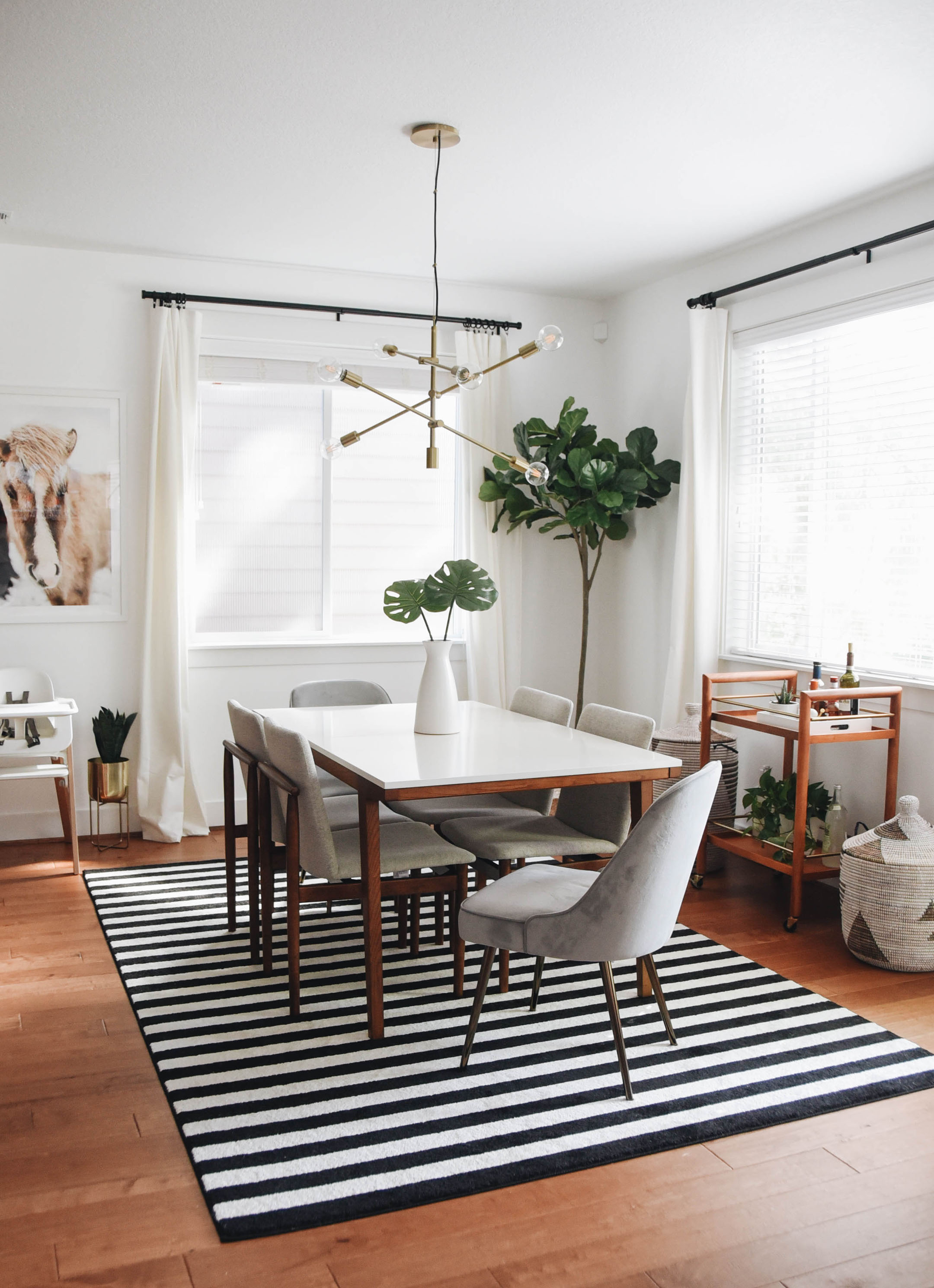 Dining Room Makeover with West Elm